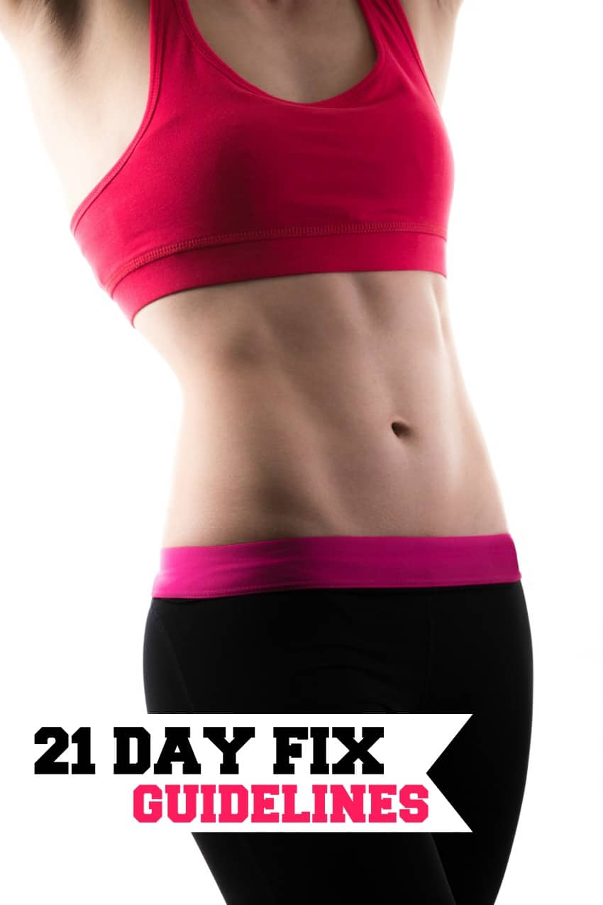 21 Day Fix Guidelines; can you eat out and mor