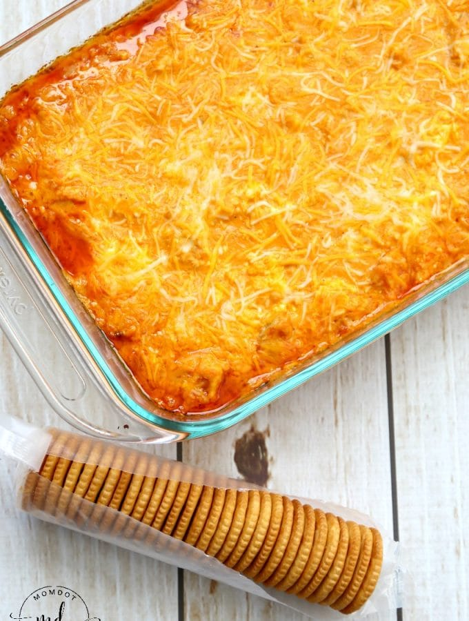 Buffalo Chicken Dip | Easy Canned Chicken Recipe