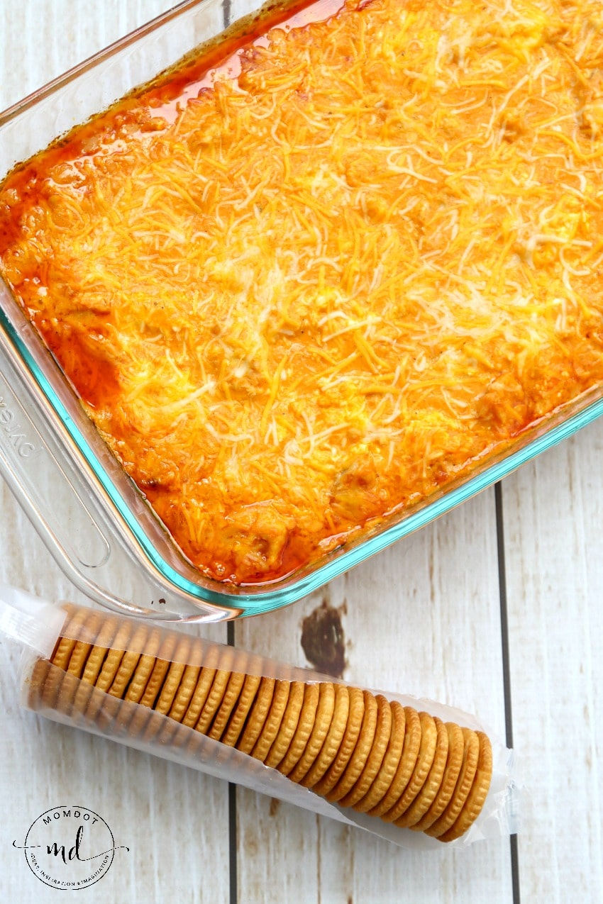 Canned Buffalo Chicken Dip