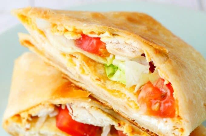 homemade crunchwrap supreme : Taco Bell Copycat