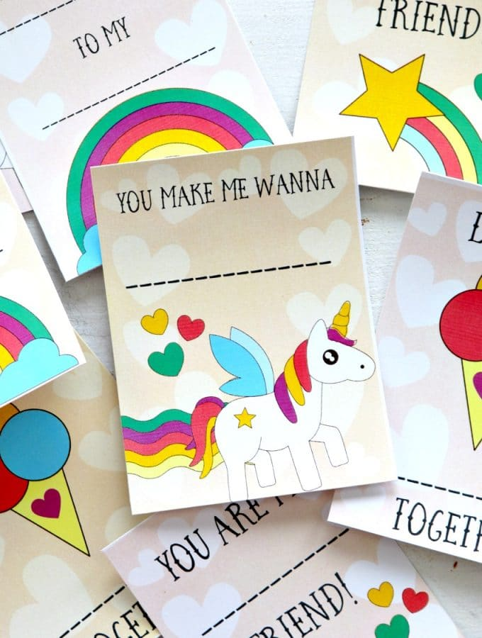 unicorn printables