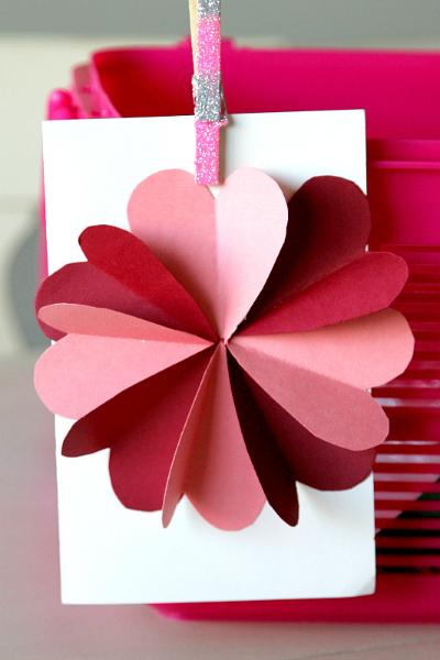 DIY Flower by Hearts Card Tutorial