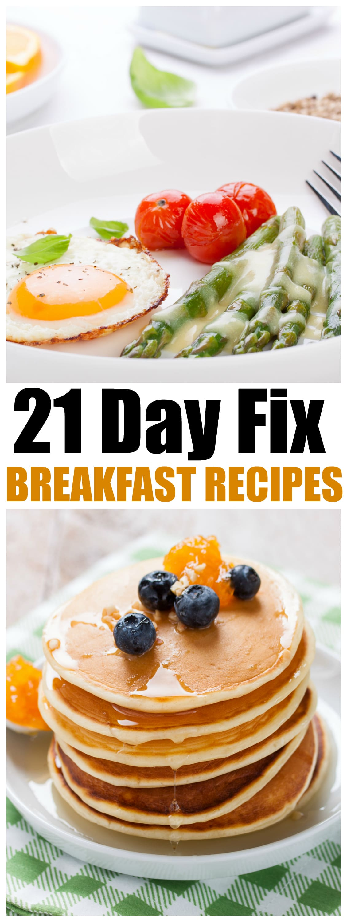 21-Day Fix Breakfast Recipes, Get a breakfast for Every work day of the month with these 20 21-day fix recipes