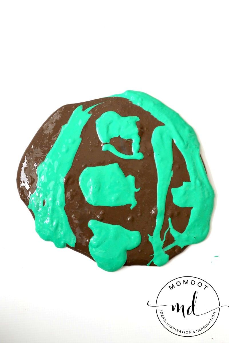 Camouflage Slime DIY, Easy Homemade Slime to create a camo