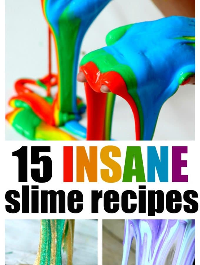 15 Insane Homemade Slime Recipes
