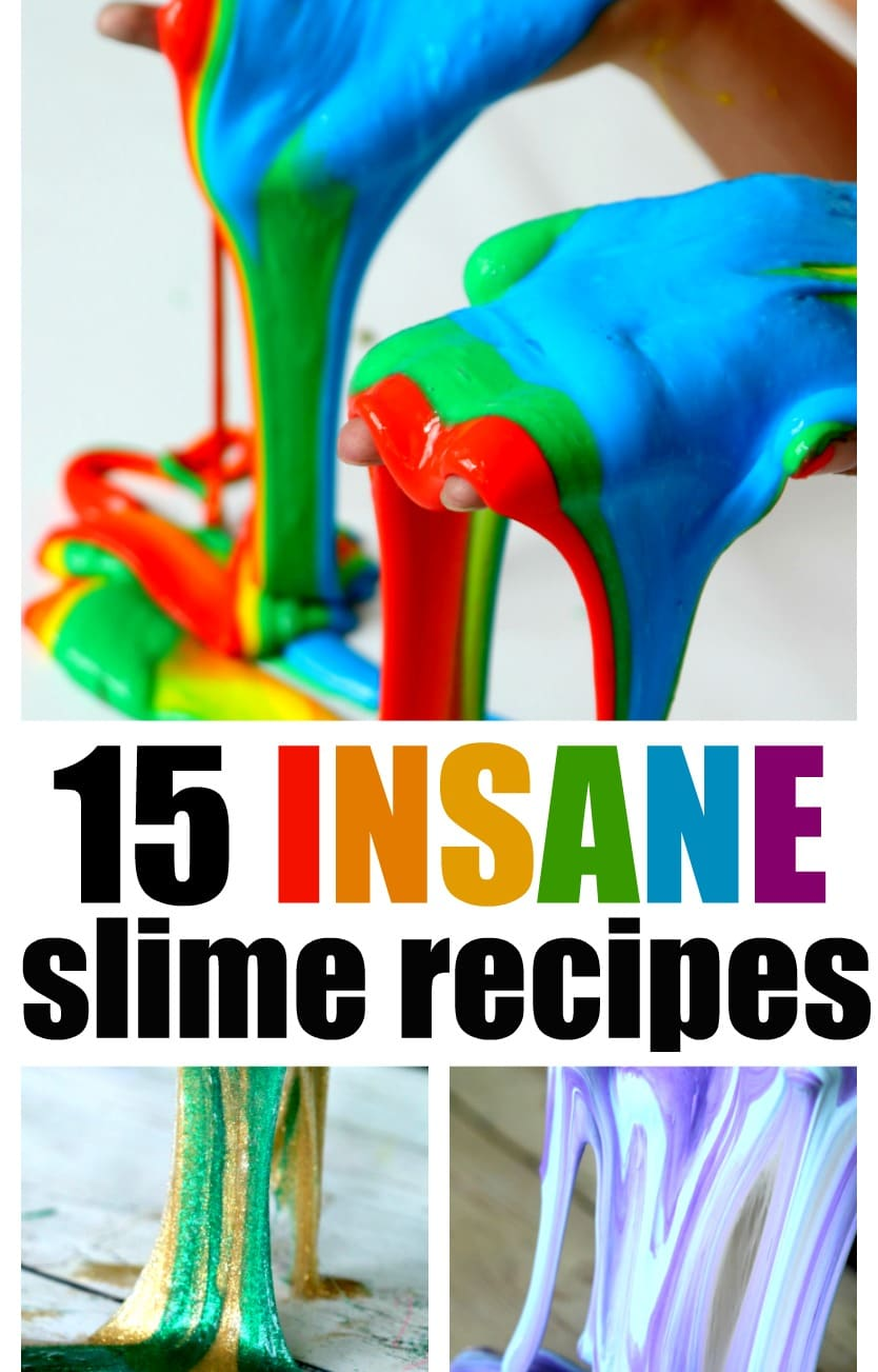 15 Insane Homemade Slime Recipes