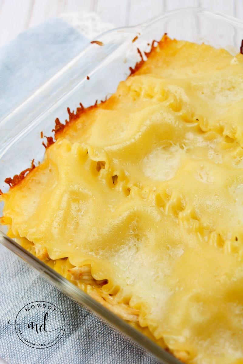 White Chicken Lasagna Recipe With Chiles
