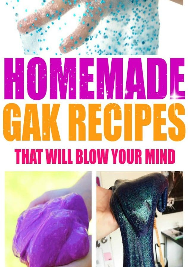5 Glitter Gak Recipes that will Blow Your Mind