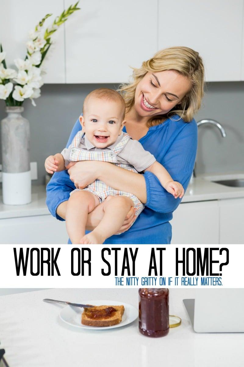 Mom Guilt: Should I Stay or Should I go?