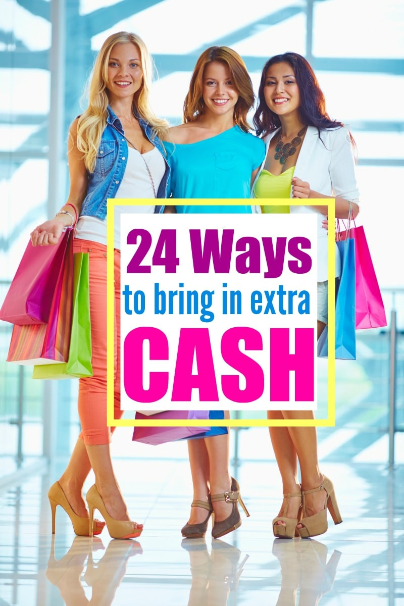 Making Money : 24 Ways to Bring in Extra Cash (not just surveys!)