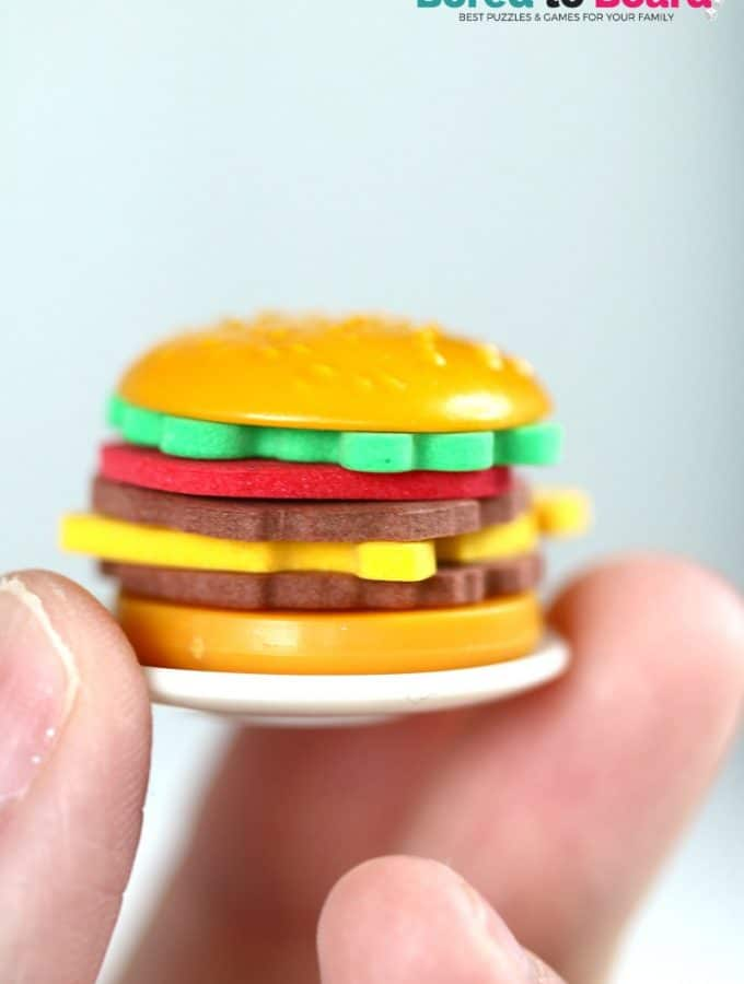 Burger Mania Board Game: (Cook without the mess!)
