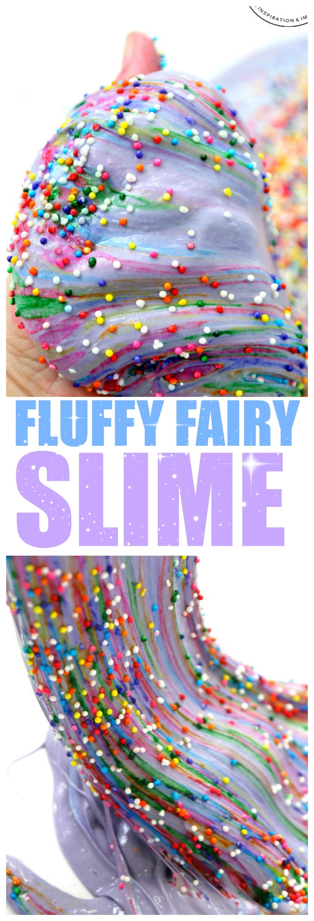 Fairy Slime: how to make fluffy fairy slime and magically appearing rainbows