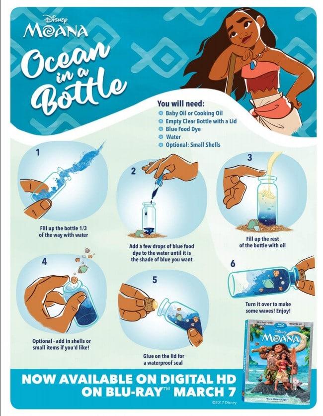 DIY Ocean in a bottle, get print here to get started