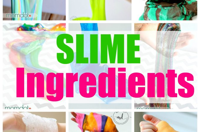 Slime Ingredients : Master List of Slime Ingredients to make every kind of slime plus examples and recipes of each slime