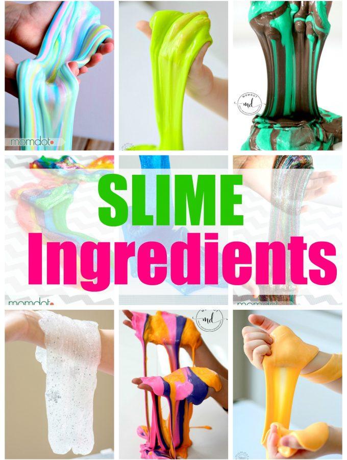 how to make slime ingredients list