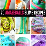 20 AMAZEBALLS SLIME RECIPES - 20 of the most Awesome DIY Slime Recipes