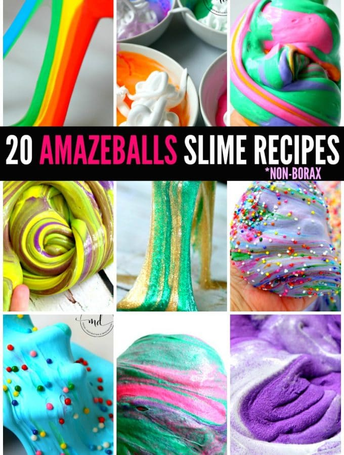 20 Amazeballs Slime Recipes