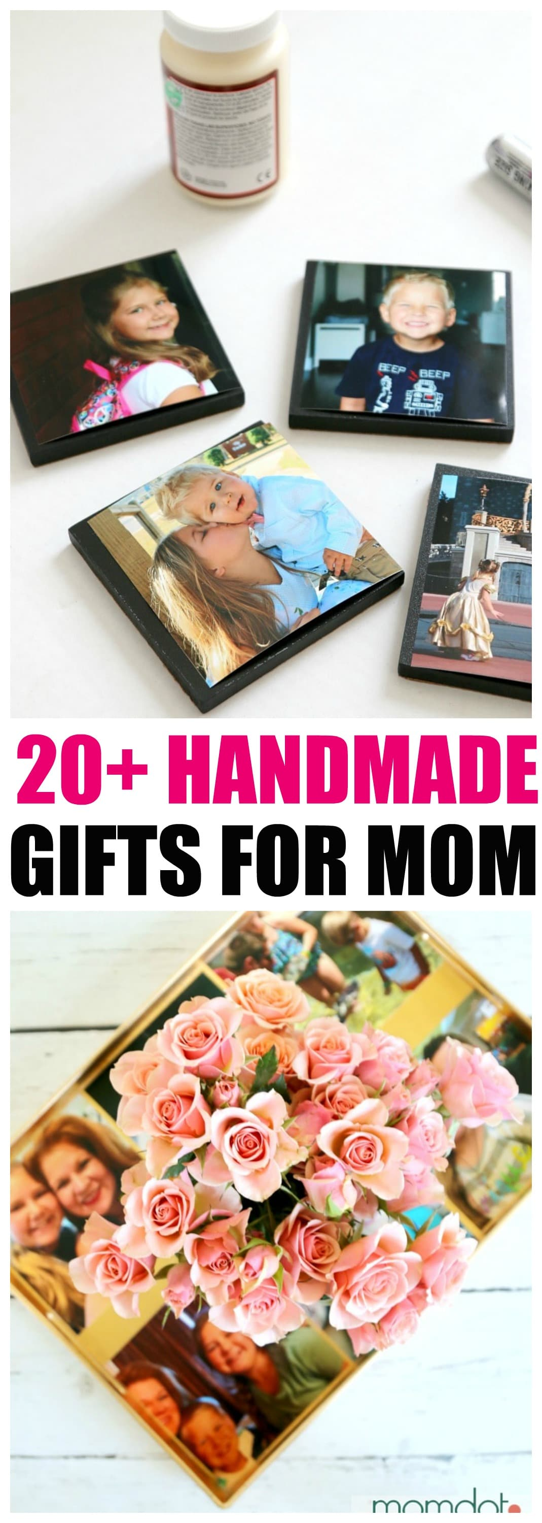 20+ Sentimental Homemade Gifts Mom Will LOVE