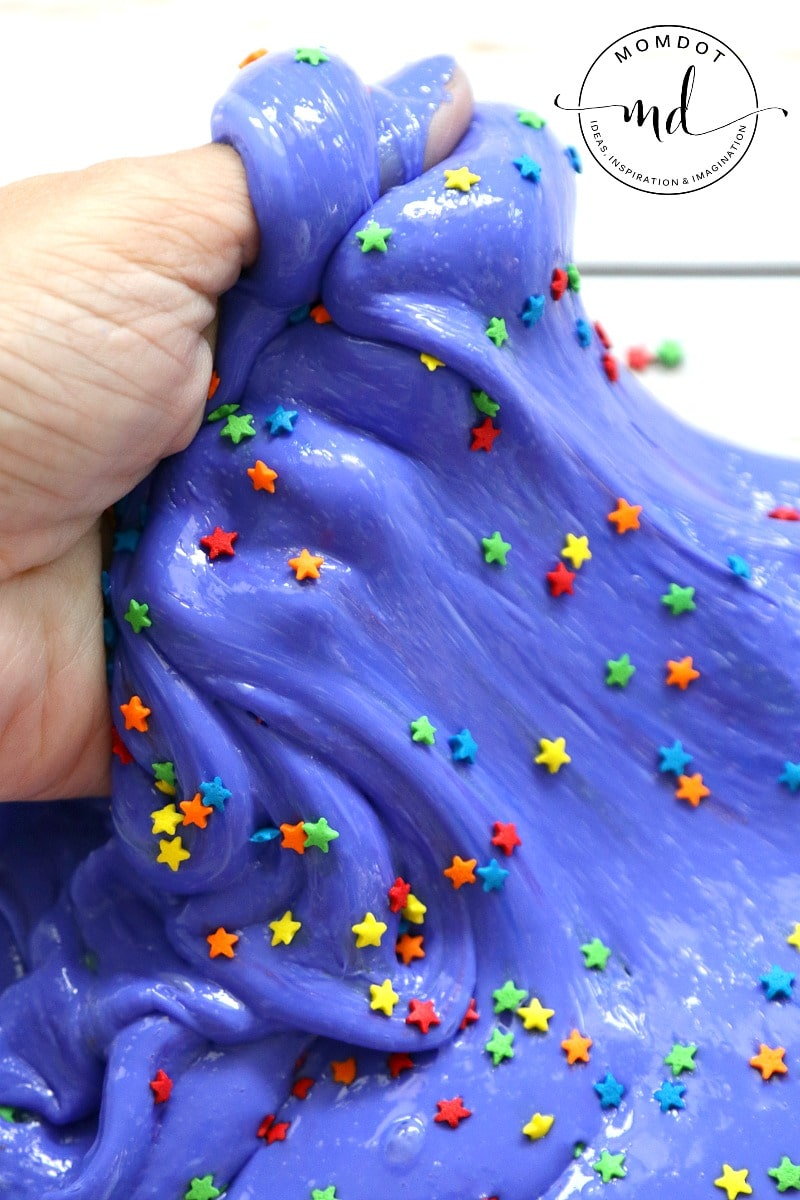 Fluffy Slime : Cosmic Star Fluffy Slime , create perfect slime every time with this recipe