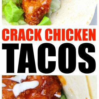 Crack Chicken Tacos: Addicting chicken taco recipe with perfect spice for a crack-a-lacking dinner