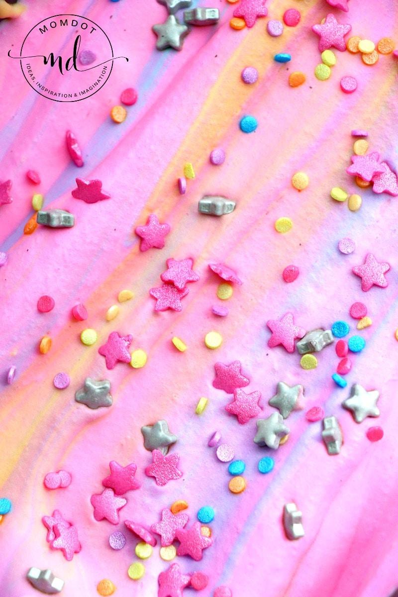 Unicorn Ice Cream Recipe: No Churn Rainbow ice cream - be ready today!