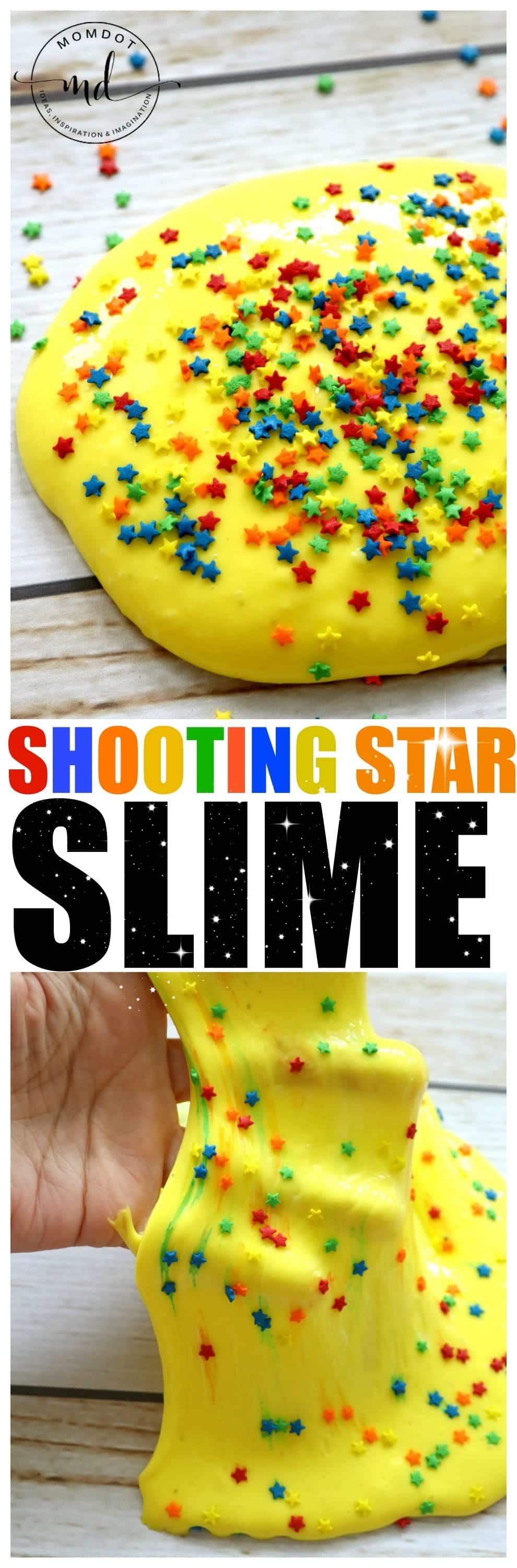 Slime Recipe: Shooting Star Slime, Perfect Slime recipe that comes alive with STARS