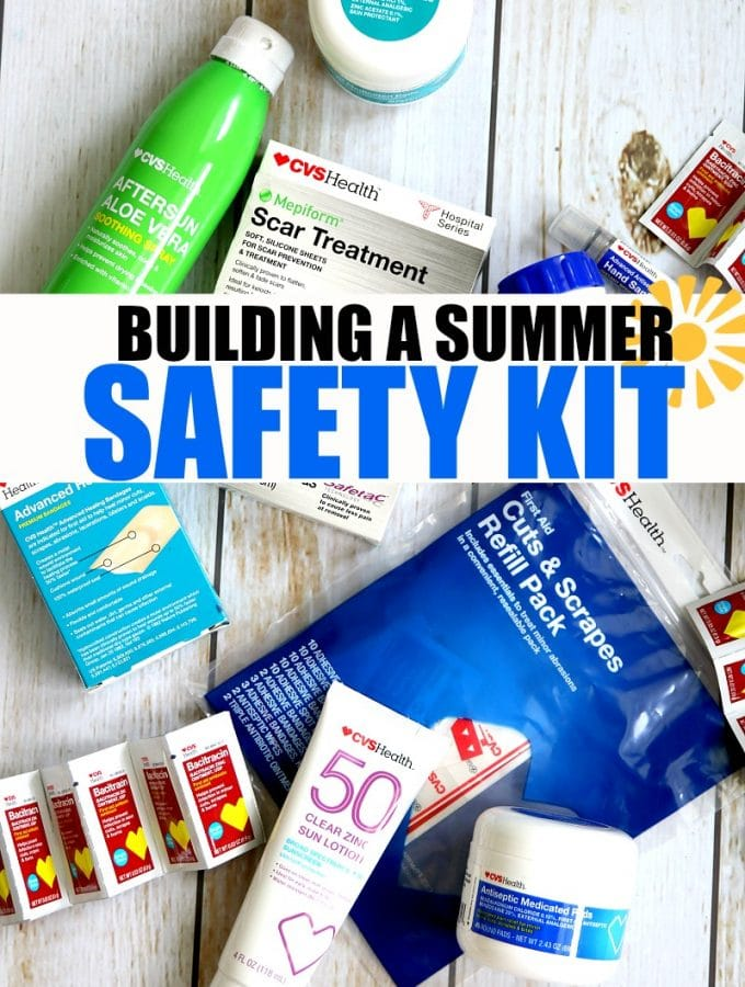 Building a Summer Safety kit to prep for every summer emergency