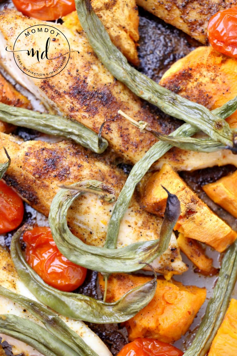 Sheet Pan Chicken & Veg Recipe