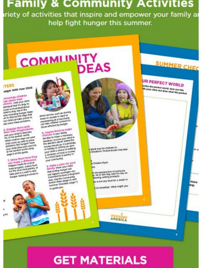 Family Action Plan: Ending Hunger this Summer, learn how to raise money for your community