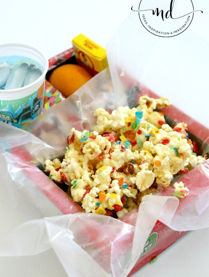 Make your own Movie Theater Snack Box!