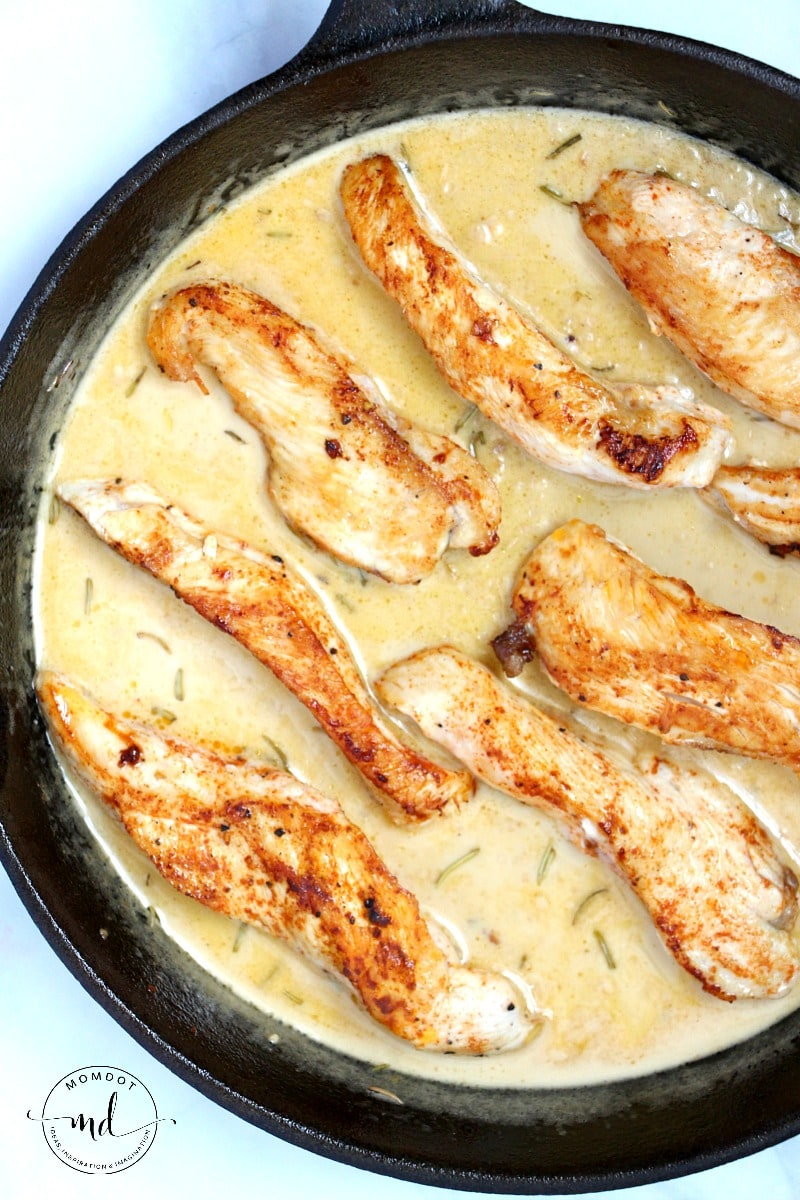 chicken strips recipe