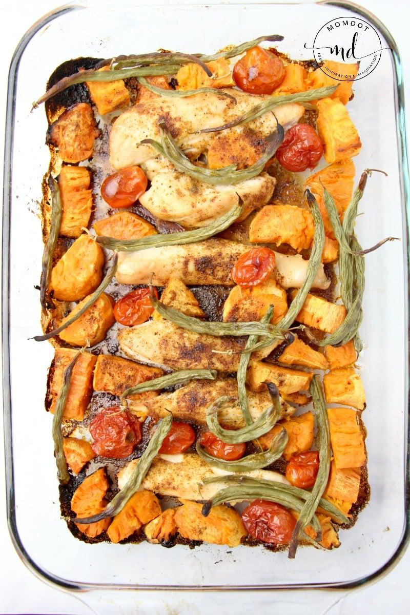 ow to make sheet pan chicken and veggies