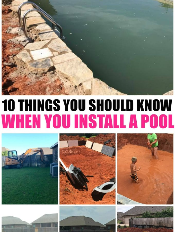 In Ground Pool Installation: 10 Things You Should Know Before Installing a Pool in your backyard, in ground pool steps and pictures