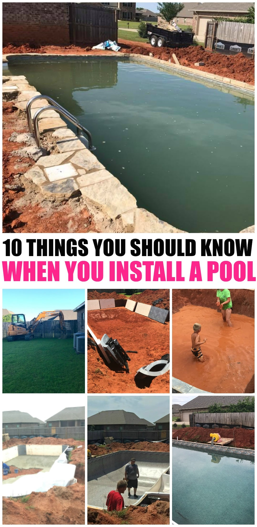 10 things you should know before installing a pool momdot