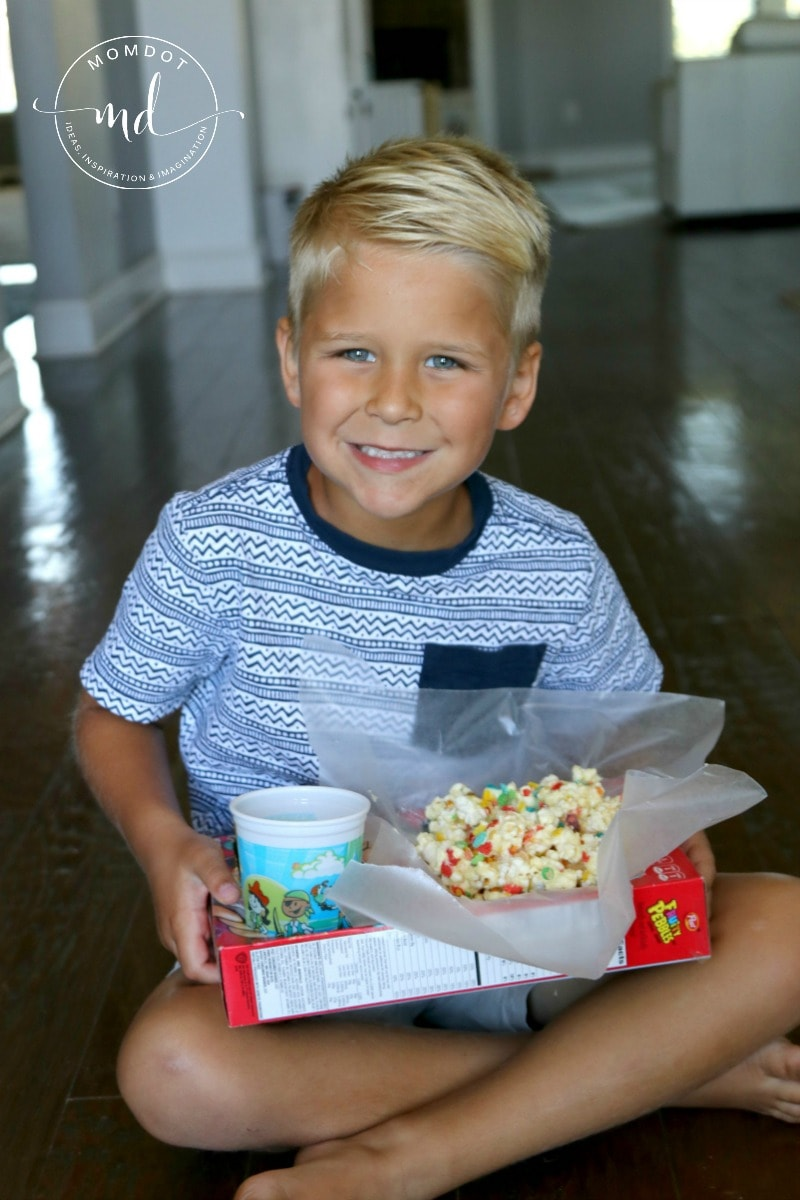 Make Your Own Movie Theater Snack Box