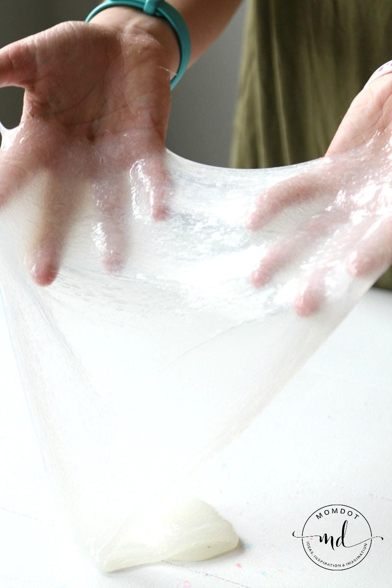 Clear slime Recipe
