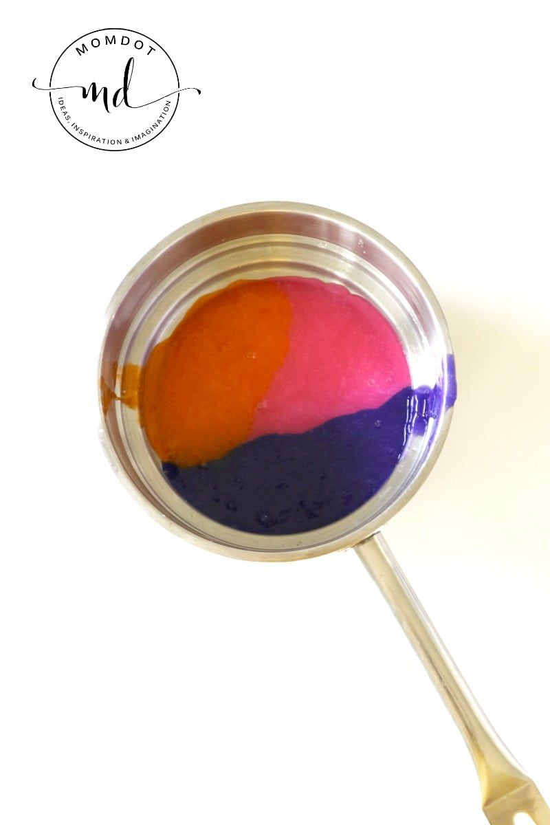 Slime Painting: Slime Recipe perfect for Painting, Canvas Painting , an awesome sensory experience