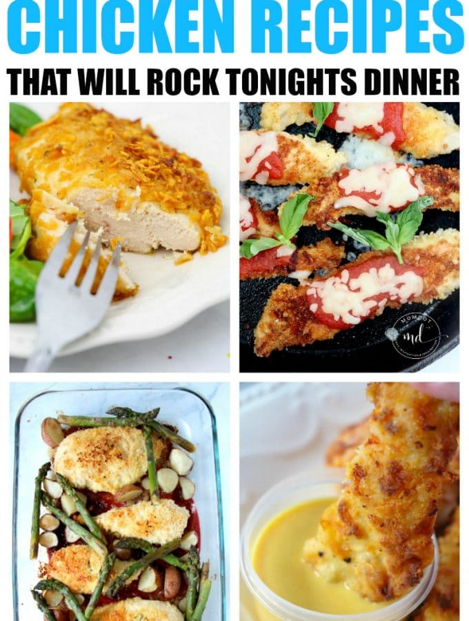 10 Ultimate Chicken Recipes that will rock tonights dinner menu, get amazing chicken recipes here!