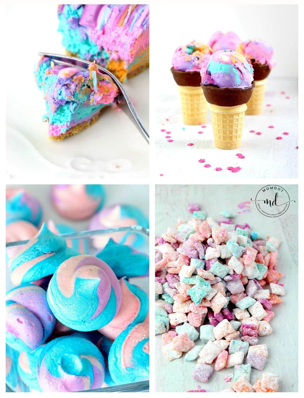 5 Unicorn Poop Desserts that will change your life and make your next party pretty!