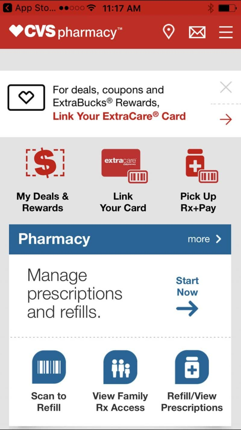 CVS app is a perfect way to plan and schedule your prescriptions