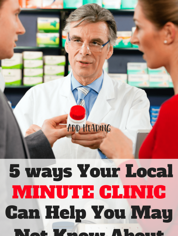 5 Ways Your Local MinuteClinic Can Help You May Not Know About