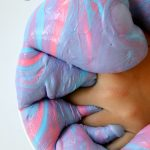 Fluffy Saline Solution Slime: How to make Fluffy Slime with Saline Solution step by step