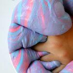 Fluffy Saline Solution Slime: How to make Fluffy Slime with Saline Solution step by step