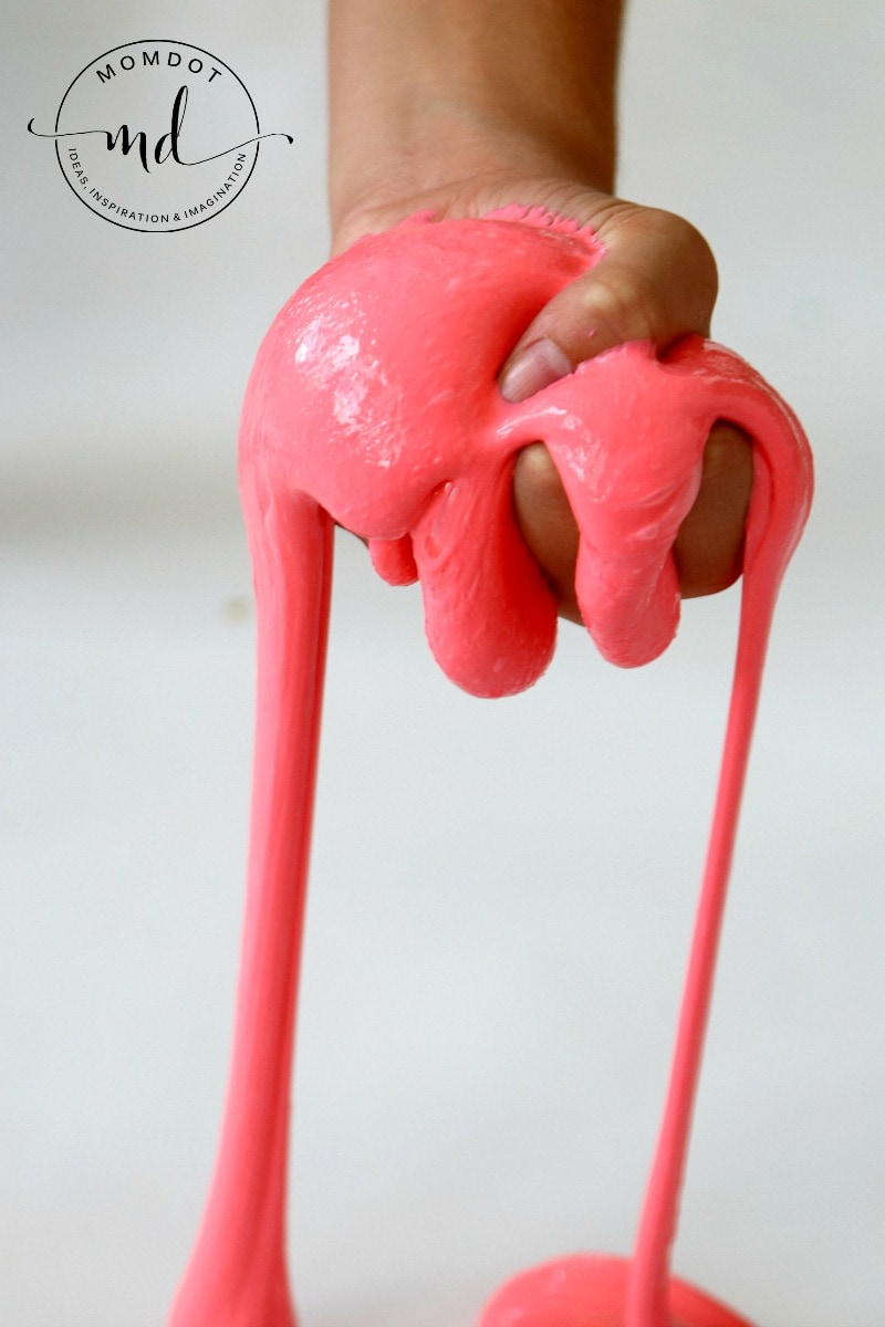 Saline Solution Slime: How to make Saline Solution Slime that is EASY, Stretchy and FUN for kids