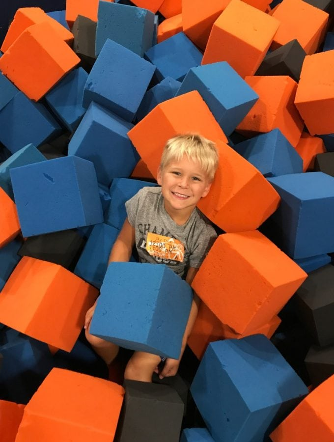 SkyZone Trampoline Park : Jumping for Joy