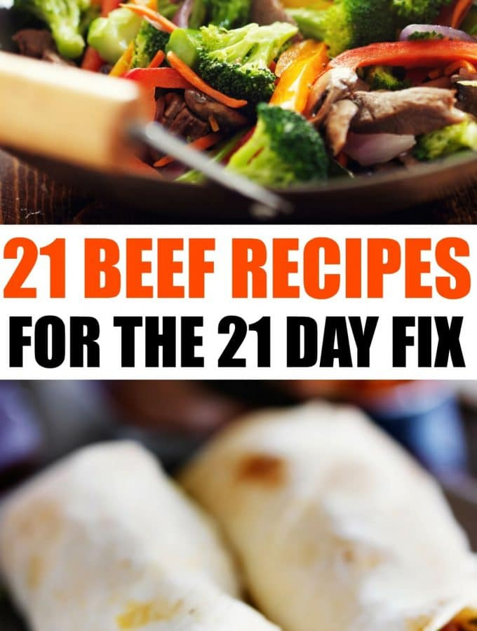 21 Day Fix Beef Recipes To Add To The Menu