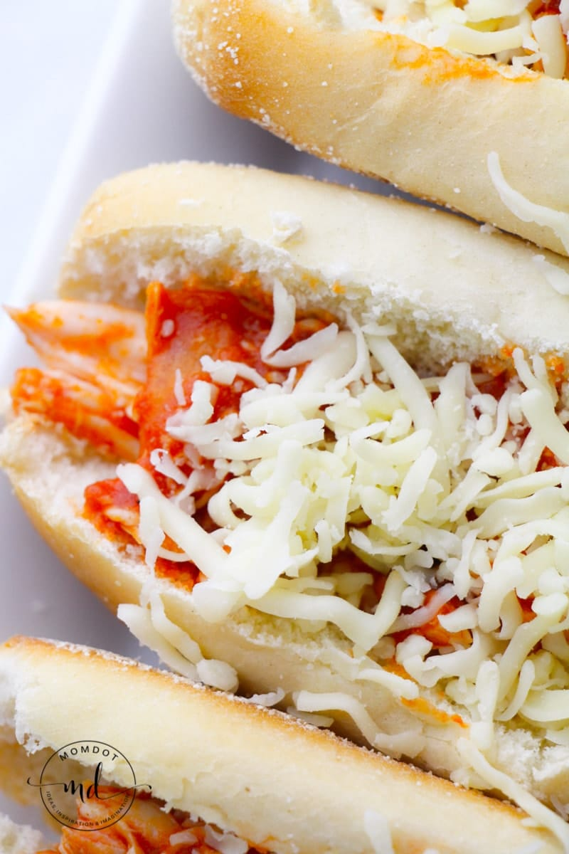 Chicken Parmesan Sandwiches Recipe, Slow Cooker chicken parm, perfection cooked for you!