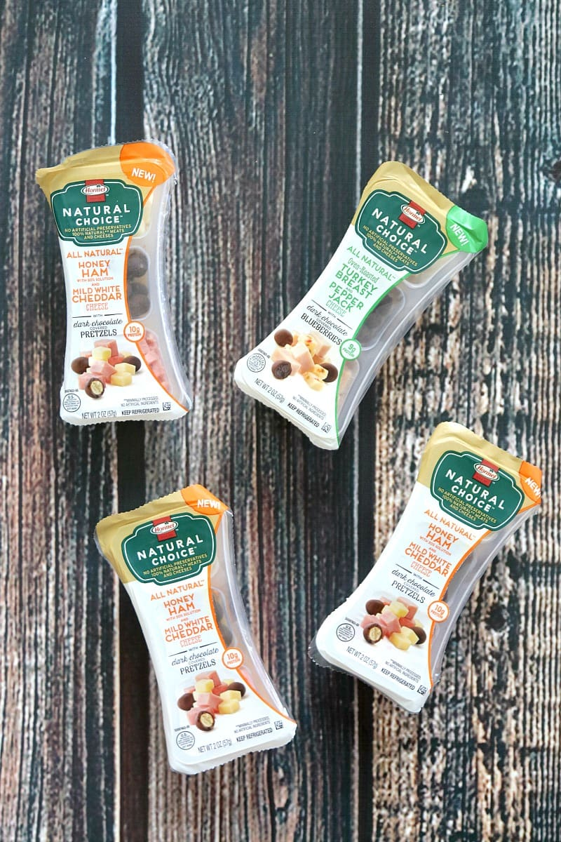 HORMEL™ NATURAL CHOICE™ snacks are carefully crafted snacks which include bite-sized pieces of 100% natural meat and cheese— all minimally processed, without artificial preservatives or ingredients.