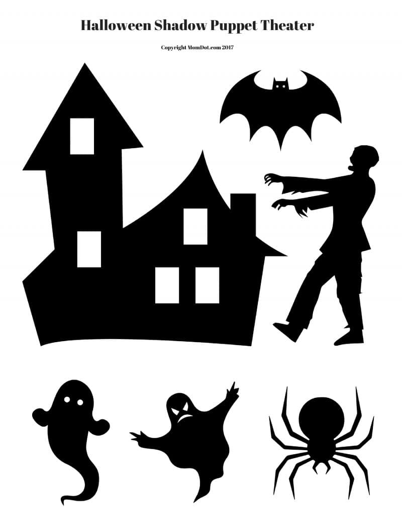This Spooky Theater Comes With A FREE Halloween Printable. DOWNLOAD ON THIS  LINK. Once Printed On Card Stock, Cut Out! Put Your Haunted House On The  Front ...
