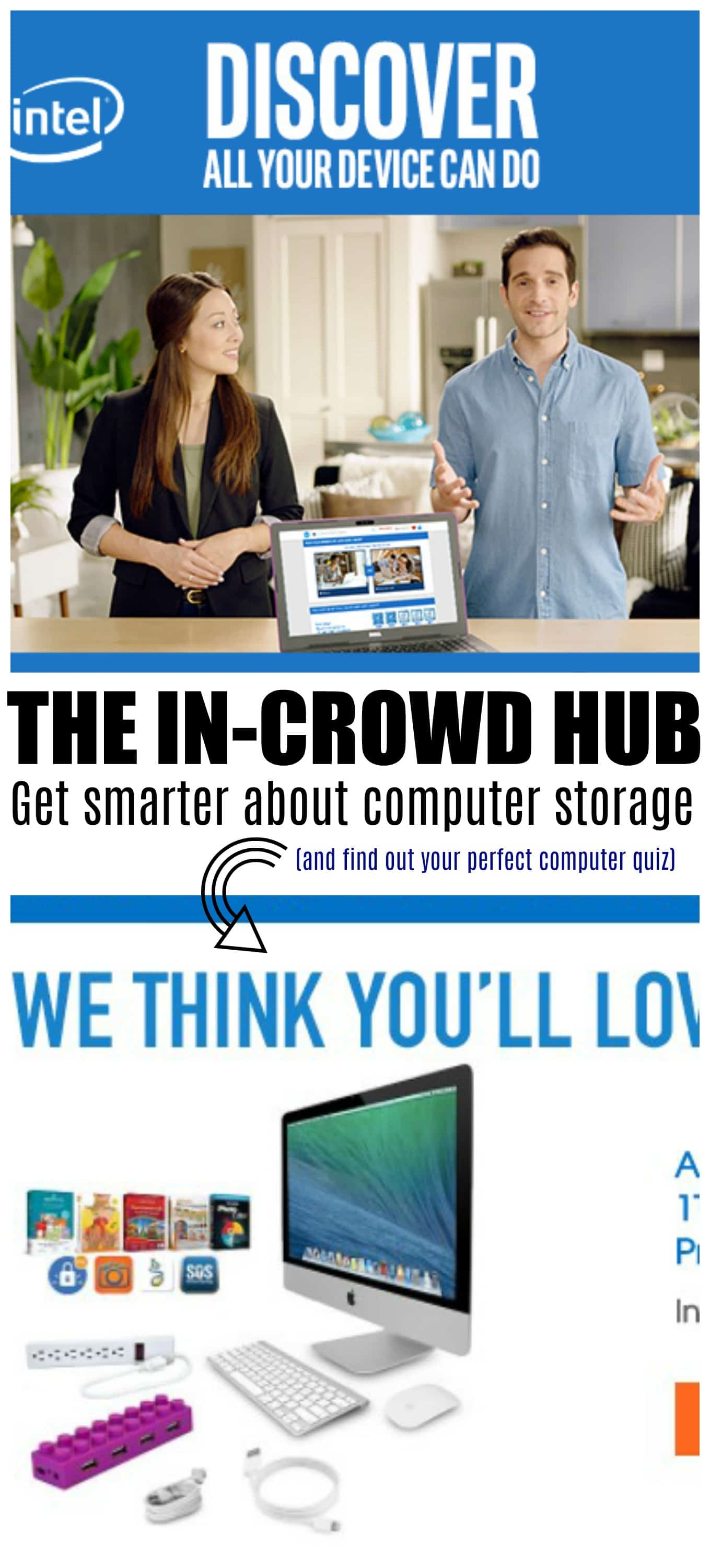 Buying a computer, Who wants time back in their day? This quiz can grant your wish! #IntelINCROWD #ad